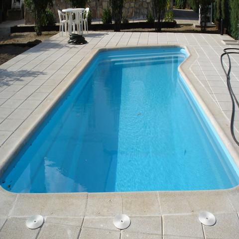 Piscina coral 10 00 x 4 00 piscinas de poliester for Piscinas desbordantes precios