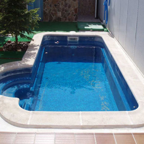 Piscinas piscinas de poliester venta y montaje - Precio piscina obra 8x4 ...