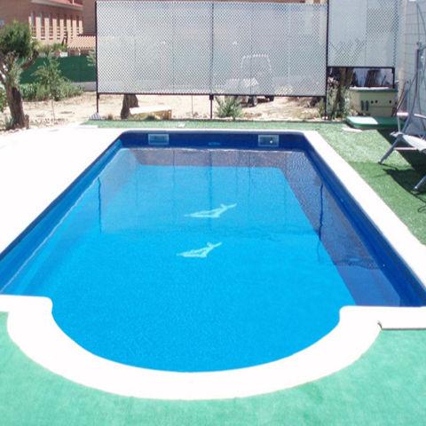 Piscina sicilia 10 00 x 4 00 piscinas de poliester - Precio piscina poliester ...
